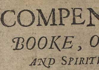 Ane Compendious Booke
