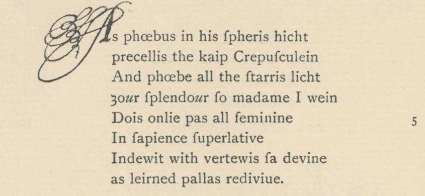 The Maitland Quarto, 1920 Scots Text Society edition