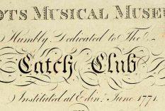 Vol 1 o The Scots Musical Museum, imprentit 1787